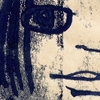 Illustratie Tekening Monoprint papier Meisje Vrouwtje eigenwijs brutaal stoer studioHille Hilda Groenesteyn