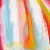 Schilderij Tekening Illustratie Acryl Verf Papier Meisje Sjaal Winter Rood Warm studioHille Hilda Groenesteyn