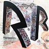 Ontwerp en uitvoering 3D etalage letters in opdracht van Rodenstock Benelux BV reclame promotie winkel raam expanded polystyreen EPS verf lak collages peter boersma hilda groenesteyn studio hille
