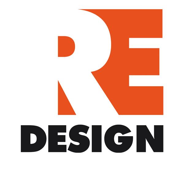 Ontwerp logo re design poster flyer expositie ontwerpwedstrijd redesign strak zwart wit oranje