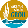 logo Vakantie Studio Grou vector ontwerp studio Hille Hilda Groenesteyn Water Riet Friesland Bed %26 Breakfast