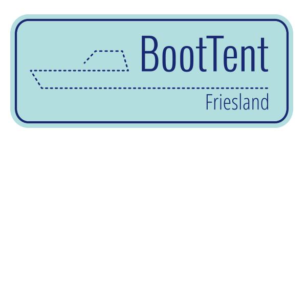 Logo Boot Tent Friesland Marcel postma Allround Freelance Tentenmaker Zeilmakerij Grou Watersport Licht Blauw