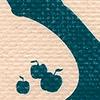 Geboortekaartje baby jongen handgeschept papier appelboom bloesem boerderij superman Teun Stijn studio hille Hilda Groenesteyn