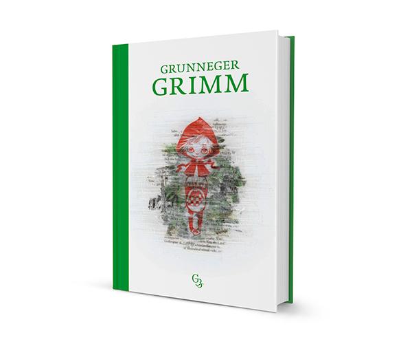 Grunneger Grimm Sprookjes Boek Groningen Gronings Dag van de Grunneger Toal Marten van Dijken Hilda Groenesteyn studio Hille Roodkapje Illustraties Collage