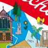 Illustratie Leidsche Rijn T-shirt Metaal Kathedraal Dengh Zuiver Doppio Leidscherijnlijn Haarzuylen Barry Atsma Map Plattegrond Utrecht Key West JansenJager beeldmakers Hilda Groenesteyn studio Hille