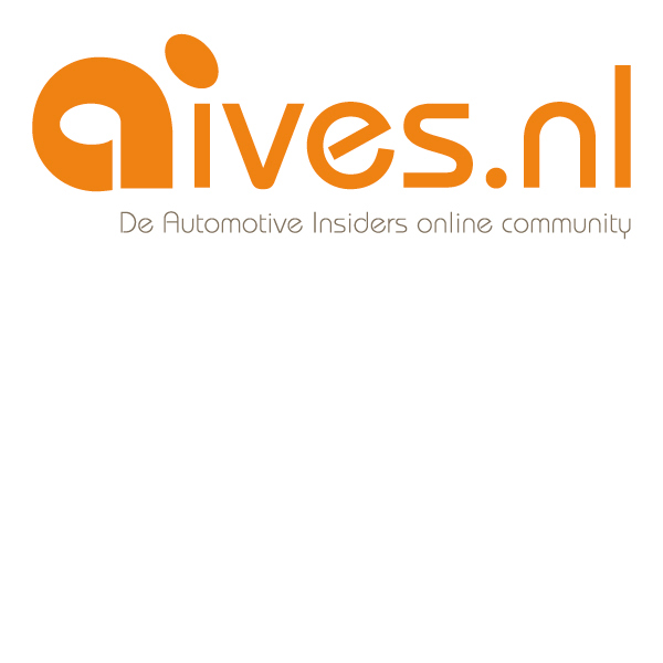 logo aives online community automotive insiders social media oranje ontwerp vector hyves autobranche