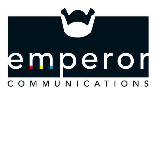 logo emperor Communicatie vector ontwerp fotografie zonnekap lens keizer