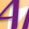 logo vector ontwerp Allez PR communicatie bier bourgondisch paars oranje
