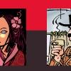 DTP Desktop publishing opmaak grafisch tekst poster kleurig  Scholten Wristers Selexys boeken multimedia promotie reclame advertentie strips stereo Barbara Stok Maaike Hartjes Jean-Marc van Tol Henk Kuijpers