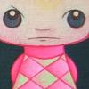 Schilderijen drieluik Acrylverf canvas Hilles cute poppetje www.houseandhome.ie