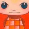 Schilderijen Zesluik Acrylverf op canvas Hilles cute lief poppetje opdracht JansenJager communicatietrajecten Kleurig rode tinten